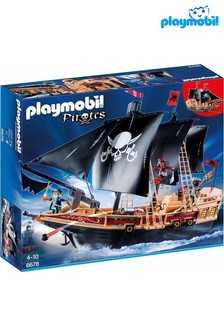 Playmobil® Floating Pirate Raiders' Ship With Cannons