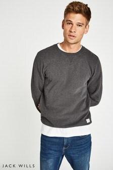 Jack Wills Charcoal Fielding Sweatshirt