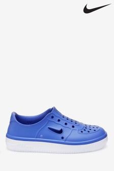 Nike Blue Form Force Junior Trainers