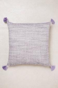 Tweedy Twist Cushion