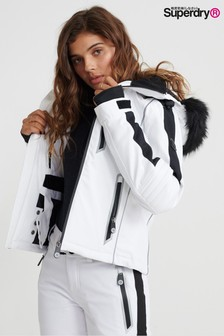 Superdry White Snow Jacket