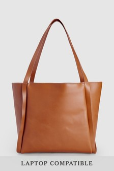 Leather Large Shopper