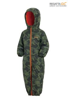 Regatta Printed Camo Waterproof Splat II Suit