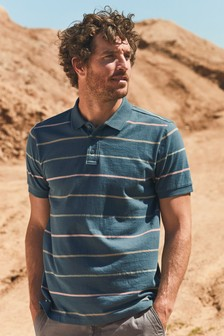 Regular Fit Stripe Polo