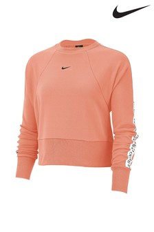 Nike Get Fit Logo Tape Crew Sweater