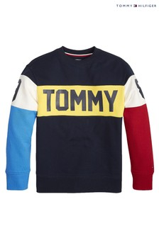 Tommy Hilfiger Blue  Colourblock Sweater