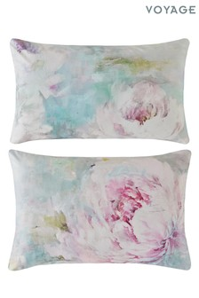 Set of 2 Voyage Roseum Pillowcases