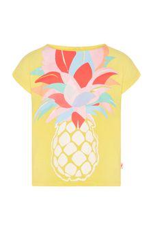 Billie Blush Girls Yellow T-Shirt
