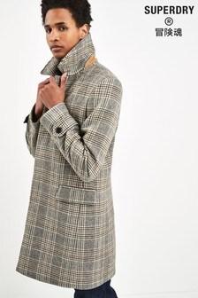 Superdry Camel Wool Coat