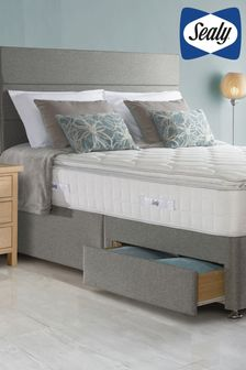 Sealy Teramo 1400 Mattress & Divan Set with Headboard
