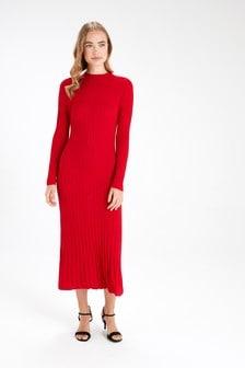 Flared Jumper Dress