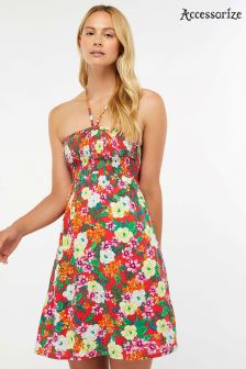 Accessorize Hothouse Tropical Floral Bandeau Dress