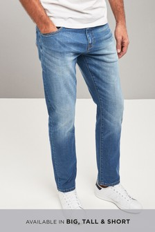 Belted Crosshatch Jeans