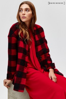 Warehouse Red Pattern Buffalo Check Jacket