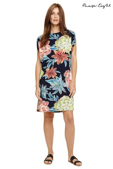 Phase Eight Blue Delany Floral Beach Dress