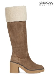 Geox Women's Adrya Brown Boots