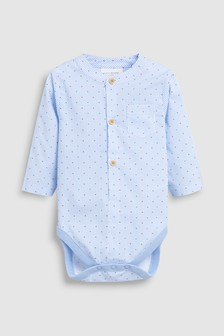 Body estilo camisa (0 meses-2 años)