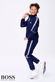 HUGO Boss Navy Zip Tracksuit