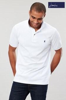 Joules White Woody Classic Poloshirt