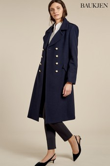 Baukjen Blue Blair Coat