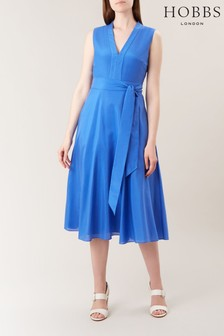 Hobbs Blue Regina Dress