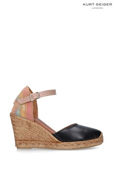 Kurt Geiger London Black Monty Rainbow Shoes