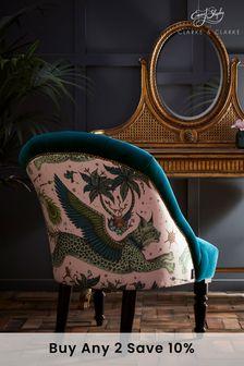Lynx Pink Soho Chair By Emma Shipley