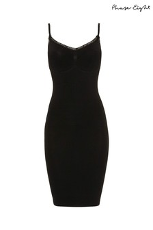 Phase Eight Black Silhouette Seamless Dress
