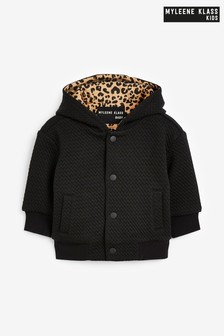 Myleene Klass Baby Quilted Zip Through Hoody
