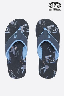 Animal Swish Flipflops mit schmalem Steg