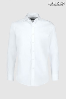 Lauren Ralph Lauren® White Plain Formal Shirt