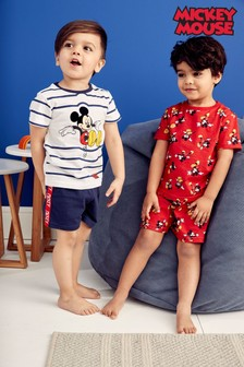 Mickey Mouse™ Pyjamas Two Pack (9mths-8yrs)