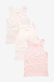 3 Pack Vests (1.5-16yrs)