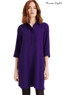 Phase Eight Purple Bella Swing Dress
