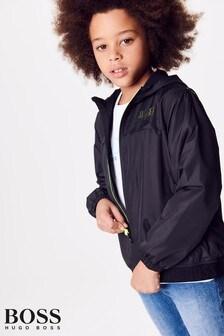 BOSS Black Hooded Jacket