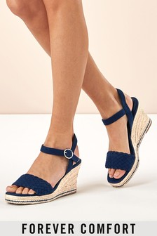 89aed9e7271 Wedges | Espadrille & Leather Wedges | Next UK