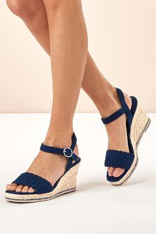 1c62b247b78 Wedges | Espadrille & Leather Wedges | Next UK