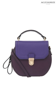 Accessorize Purple Carly Cross Body Bag