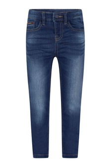 Boys Blue Cotton Soft Denim Jeans