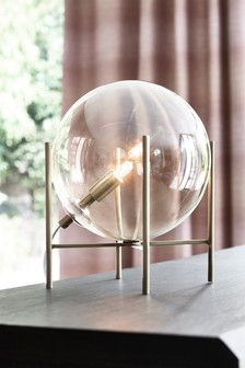 Emilia Brass Table Lamp