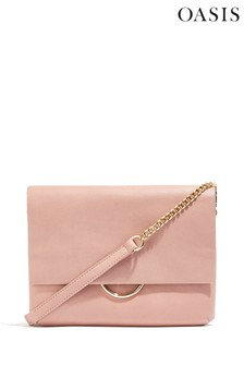 Oasis Natural Eddie Clutch Bag