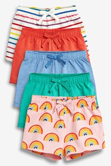 Bright Shorts Five Pack (3mths-7yrs)