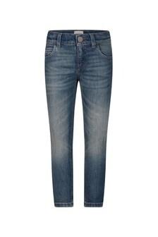 GUCCI Kids Boys Blue Super Stone Washed Denim Jeans