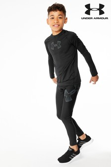 Under Armour Black Heat Gear Legging