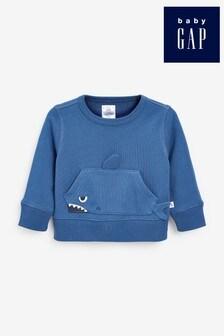 Gap 3D Shark Graphic Sweatshirt