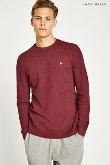 Jack Wills Damson Frogwell Long Sleeve T-Shirt
