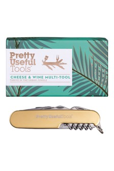 Pretty Useful Tools Cheese & Wine Multi Tool