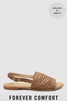 Sandales Forever Comfort® tressées à bride arrière