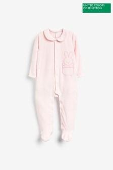 Benetton Pink Bodysuit