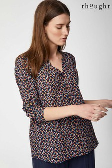 Thought Blue Marcella Blouse